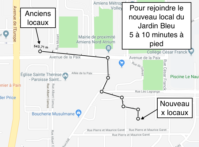 Plan quartier jb map